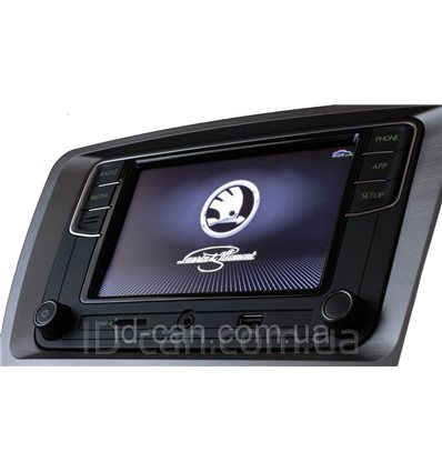 Штатная Автомагнитола RCD330 plus SKODA MIB2-G PQ Carplay AndroidAuto NoName