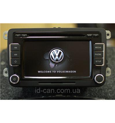 Штатная магнитола VW RCD 510 BOSCH Volkswagen оригинал CD-чейнджер