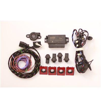 Парковочный ассистент парктроник передний + задний на 8 датчиков для Skoda Octavia A7, Октавия 3, Superb 3