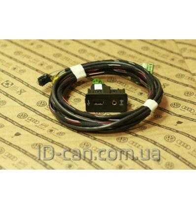 Кабель с фишкой AUX — USB 5G0035222E c поддержкой Carplay для MIBII