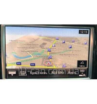 Русификация магнитол VW Touareg RNS 850 и Audi MMI+
