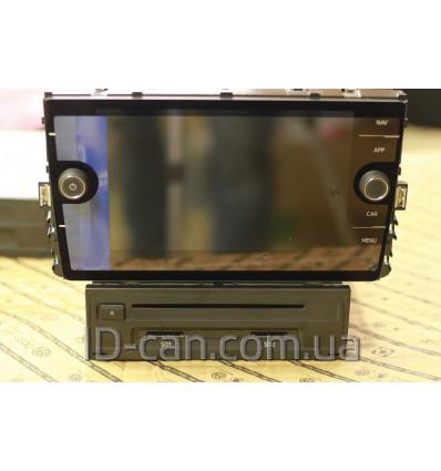 Оригинальная магнитола VW Discover Media 3Q0 035 846 экран 5G6 919 605B